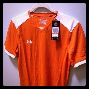 NWT Orange Jersey T-shirt Small